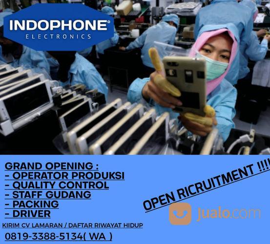 Lowongan Kerja Pabrik Handphone Jakarta Barat Jualo