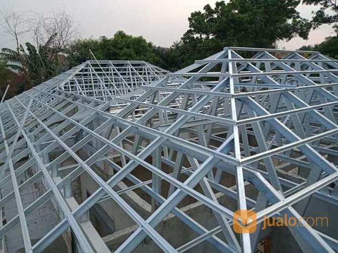 Menerima Pemasangan Atap Baja Ringan Kanopi Rumah Pagar Rumah