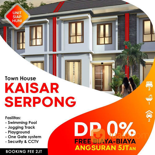 Rumah 2 Lantai 1000% MURAH Harganya Super Ramah (22953563) di Kota Tangerang Selatan