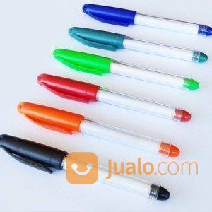 Souvenir Pen Boss Jell - Pulpen Insert Sticker (22958035) di Kota Tangerang