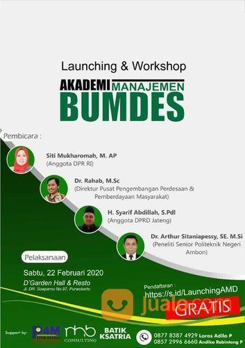 Lanching Akademi Bumdes (22960871) di Kab. Banyumas