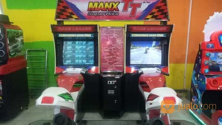 Mesin arcade manx tt aksesoris permainan dan game console 22987627