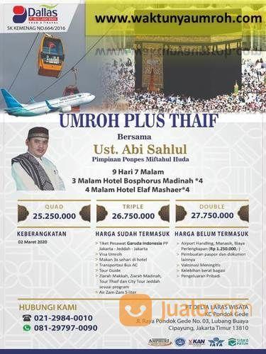 Yuuk Umroh Murah Bergaransi Jagakarsa Jakarta (22993335) di Kota Jakarta Selatan