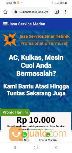 Sinar Teknik Service AC Mesincuci Kulkas Dan Tv (22997051) di Kota Medan