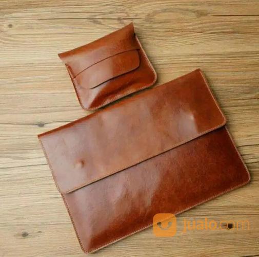 Leather Sleeve Macbook & Charger (23015807) di Kota Jakarta Selatan