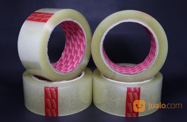 Bisa Gojek Lakban 1 Dus Warna Bening Lebih Tebal Murah (48mm X 90yard) (23028503) di Kota Jakarta Utara