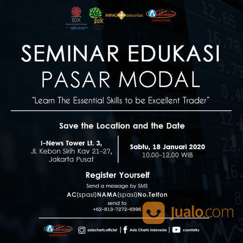 Learn The Essential Skills To Be Excellent Trader (23029743) di Kota Jakarta Selatan