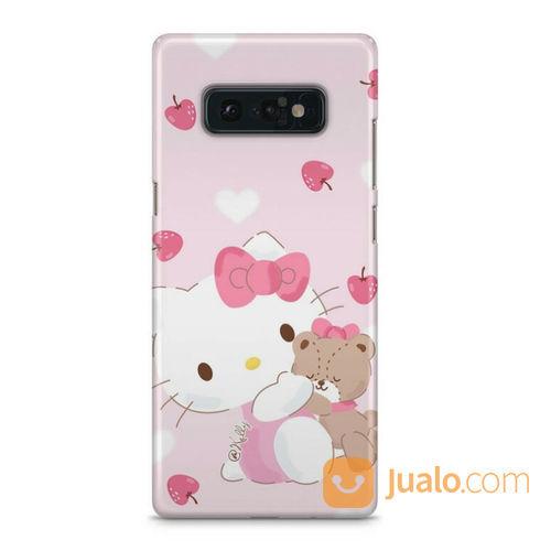 Hello Kitty Pink Background Samsung Galaxy Note 8 Custom Hard Case (23030719) di Kota Bekasi