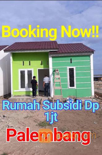 Rumah Subsidi Murah Dp 1 Jt Lokasi Strategis Kota Madya Palembang (23051199) di Kota Palembang