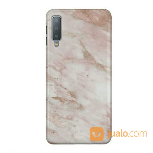 Marble Rose Gold Samsung Galaxy A70 Custom Hard Case (23068831) di Kota Bekasi