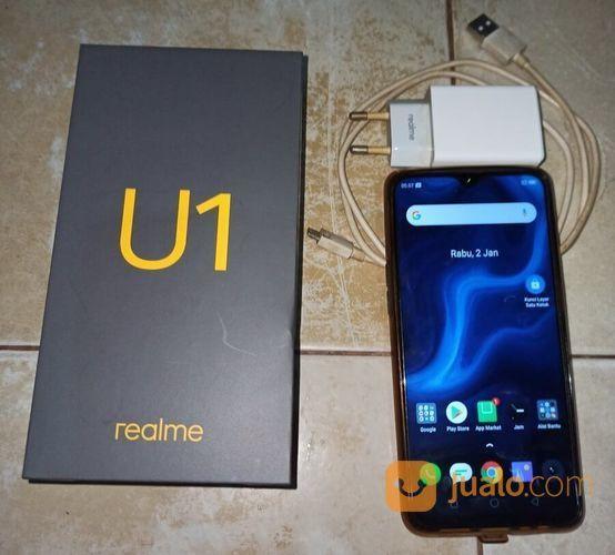 Realme u1 3gb 32gb be handphone lainnya 23073471