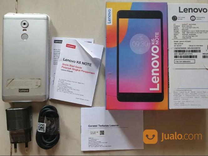 Lenovo k6 note 4 32 f handphone lenovo 23107811