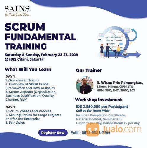 Scrum Fundamental Training (23123891) di Kota Jakarta Pusat