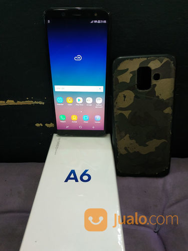 Samsung a6 2018 3 32 handphone samsung 23153271