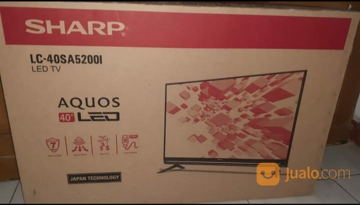 Tv led sharp aquos 40 lcd dan led 23158727