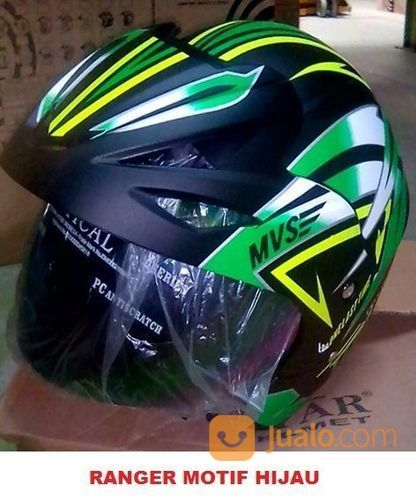 Ranger motif bagus b aksesoris berkendara helm motor 23166651