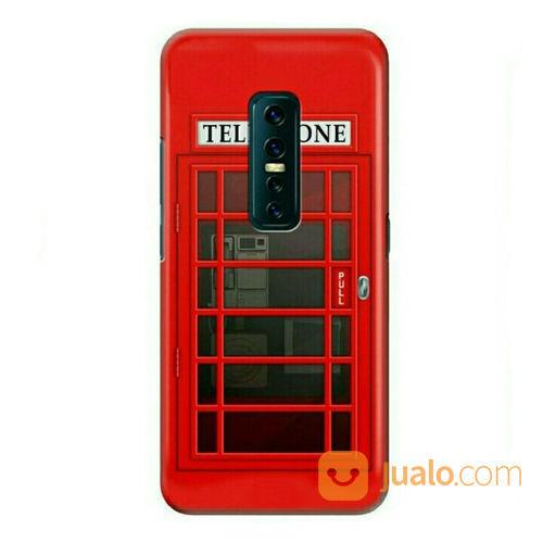 Red Telephone Booth Vivo V17 Pro Custom Hard Case (23188955) di Kota Bekasi