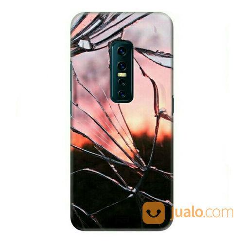 Broken Glass Vivo V17 Pro Custom Hard Case (23209955) di Kota Bekasi