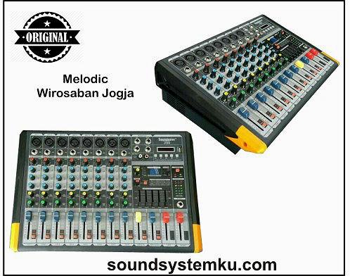 Power Mixer Soundbest JSD 8 Channel