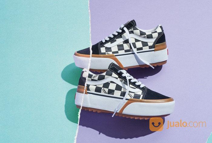 Vans oldskool stacked sneakers dan sepatu olahraga 23226303