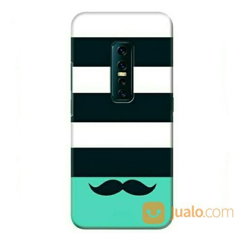 Beard Pattern Vivo V17 Pro Custom Hard Case (23227631) di Kota Bekasi