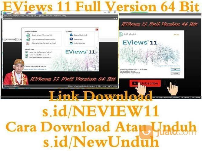 EViews 11 Full Version 64 Bit (23296911) di Kab. Semarang