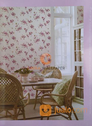 Wallpaper Dinding Premium Motif Bunga Vintage 1 Flower Story 06 Kab Sidoarjo Jualo