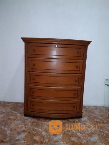 Buffet antik 5 laci u kebutuhan rumah tangga furniture 23354903