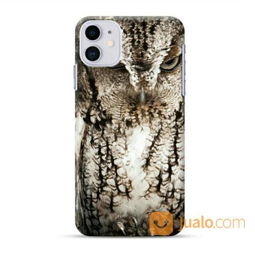 Eastern Screech Owl Georgia IPhone 11 Custom Hard Case (23367815) di Kota Bekasi