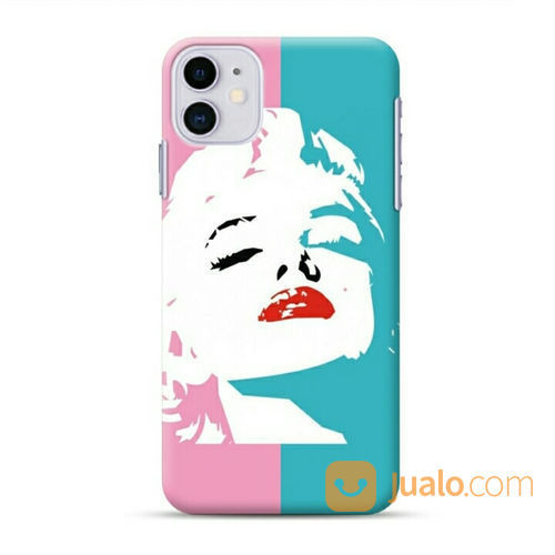 Marilyn Monroe Abstraction IPhone 11 Custom Hard Case (23374075) di Kota Bekasi