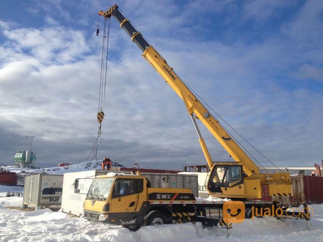 Crane Liugong Terbaru Dan Murah Kelas 25 Ton Tangguh (23404267) di Kota Gorontalo