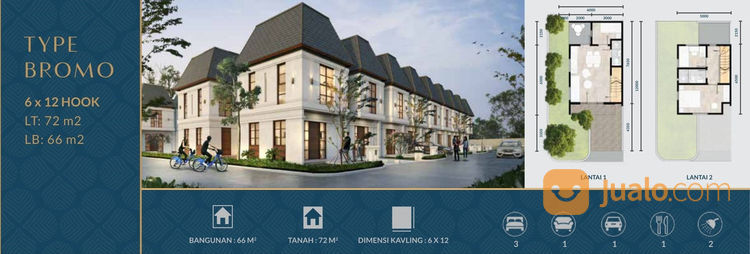 Rumah Dekat Tol Bekasi Timur, Free BPHTB (23430051) di Kota Bekasi
