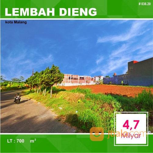 Tanah Luas 700 Poros Jalan Lembah Dieng Kota Malang _ 036.20