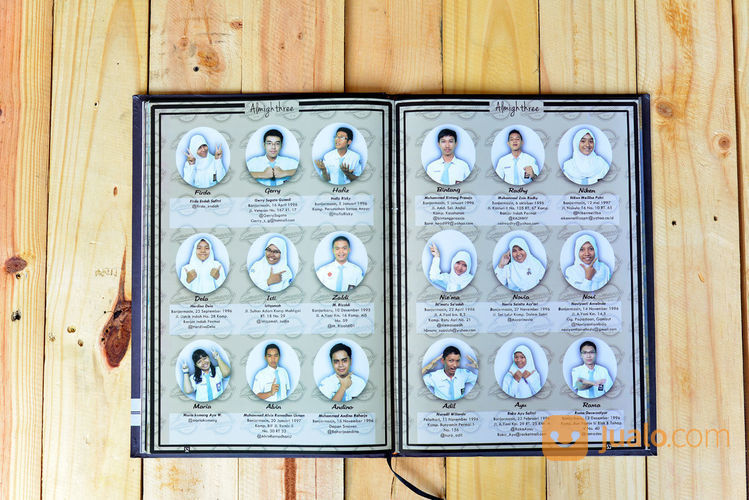 Pembuatan Buku Tahuhunan / Buku Kenangan Sekolah (23443083) di Kota Surabaya