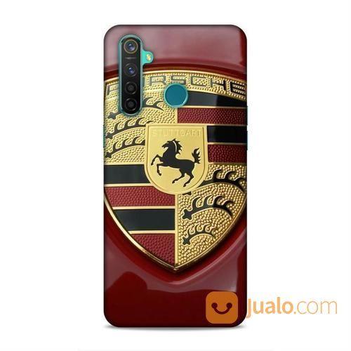 Porsche Logo Oppo Realme 5 Pro Custom Hard Case (23446799) di Kota Bekasi