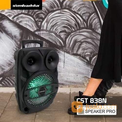 Speaker Simbadda CST 838N Free Mic Cable CST-838 CST838