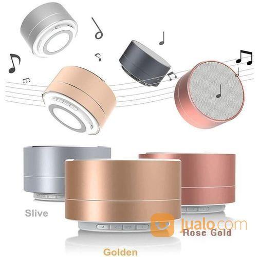 Speaker Bluetooth A10 Mini Portable Portabel Super Bass Lampu Tidur