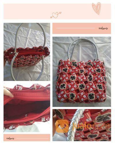 Medium Bag Tas Kerajinan Tangan Cantik Jakarta Timur Jualo
