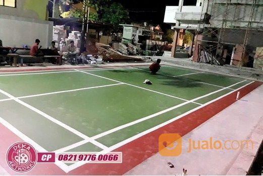 40k Per Meter, Jasa Pengecatan Lapangan Badminton Outdoor Indoor (23569867) di Kab. Sukabumi