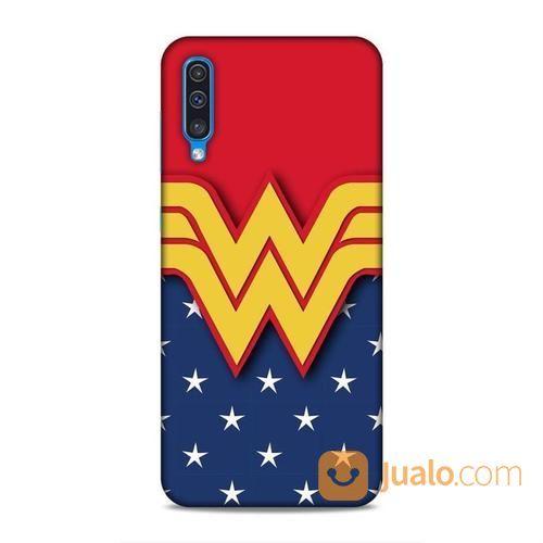 Wonder Woman Logo Samsung Galaxy A30s Custom Hard Case (23572143) di Kota Bekasi