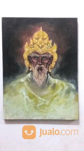 Lukisan prabu aji sak hobi seni 23582031