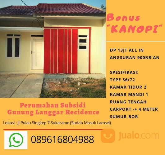 Subsidi Sukarame (Sudah Masuk Lamsel) Free Kanopi (23597515) di Kota Bandar Lampung