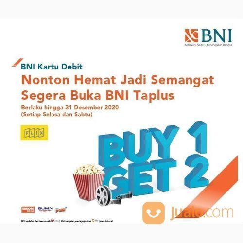 Flix Cinema Promo Nomat Dengan BNI Kartu Debit, Beli 1 Gratis 1 (23642219) di Kota Jakarta Selatan