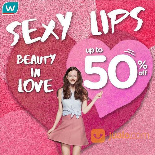 Watsons Promo Sexy Lips, Lipstick Favorit Diskon Hingga 50%! (23642383) di Kota Jakarta Selatan