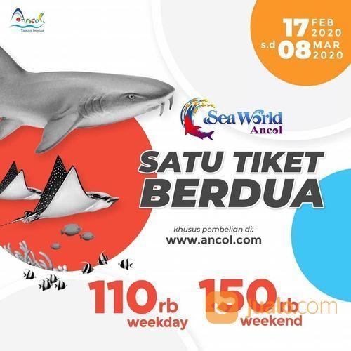 Seaworld Promo Spesial Paket Hemat Berdua, Harga Mulai Rp. 110.000! (23647207) di Kota Jakarta Selatan