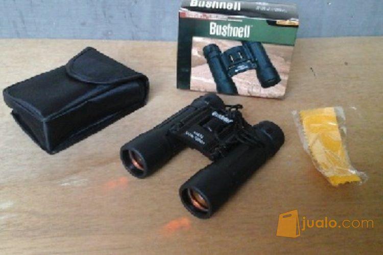 Teropong binocular Bushnell 10x25 murah, (verified)