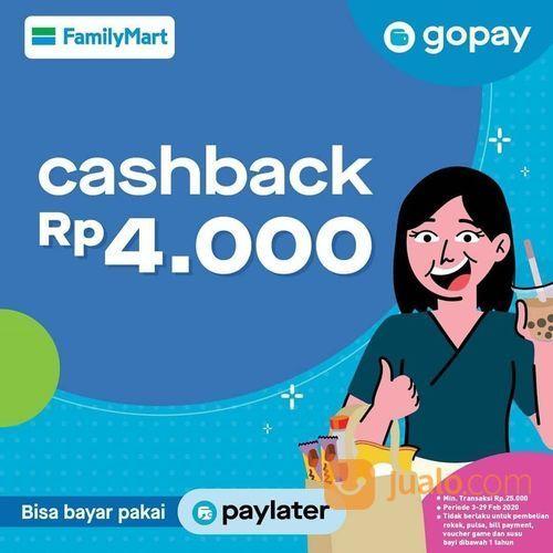 FamilyMart Promo Spesial Cashback Langsung Dengan Gopay! (23647551) di Kota Jakarta Selatan