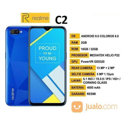 Realme C2 2/32 Garansi Resmi (23655031) di Kota Jakarta Timur