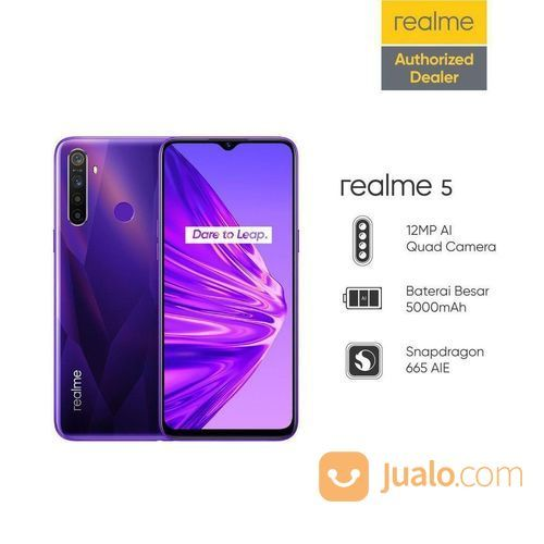 Realme 5 ram 3 64 handphone oppo 23655359