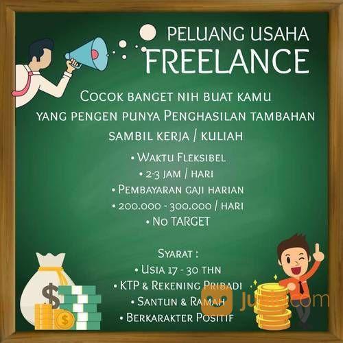 Peluang Bisnis Sampingan Freelance Bandung Jualo